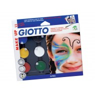 Giotto Creamy Face Paint Tablets - Classic Colours