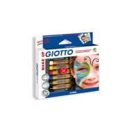 Giotto Cosmetic Face Paint Pencils - Classic Colours