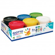 Giotto Finger Paint 6 x 200ml