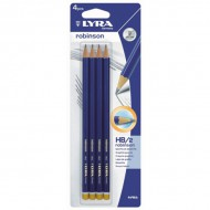 Lyra Robinson Pencil HB Pack of 4