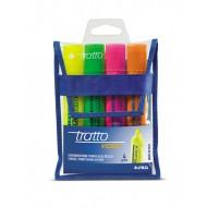 Tratto Video Highlighter Wallet of 4