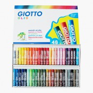 Giotto Olio Oil Pastels 48's