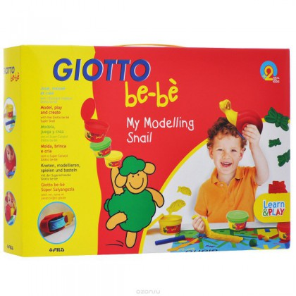 Giotto Be-bè My Modelling Snail