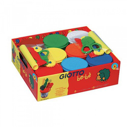Giotto Be-bè Soft Modelling Clay + Accessories