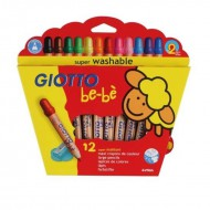 Giotto Be-Be Super Large Pencils 12's