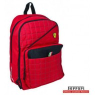 Ferrari Red Label Extensible Backpack With PC Holder