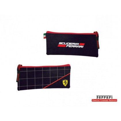 Ferrari Black Label Medium Pencil Bag