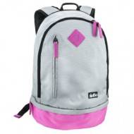 Kubo Utility Backpack Cool Grey & Pink