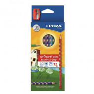 Lyra Groove Slim Colour Pencil 12's