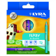 Lyra Ferby Colour Pencils 12's