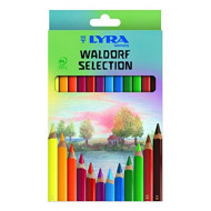 Lyra Super Ferby Waldorf Selection Colour Pencils 12's