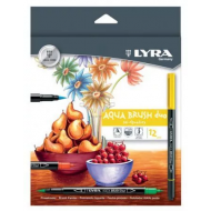 Lyra Aqua Brush Duo 12's