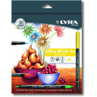 Lyra Aqua Brush Duo 24's