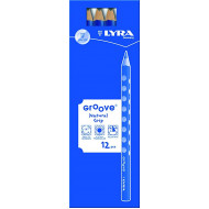 Lyra Groove Pencil B 12's