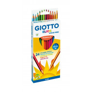 Giotto Elios Triangular Colour Pencils 24's