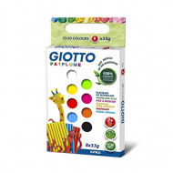 Giotto Patplume Modelling Dough 8 x 33g