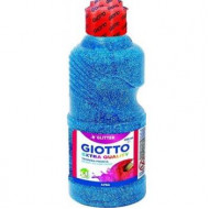 Giotto Extra Quality Glitter Paint 250ml Cyan