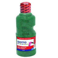 Giotto Extra Quality Glitter Paint 250ml Green