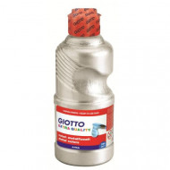 Giotto 250ml Metallic Paint Silver