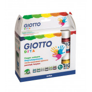 Giotto Paint Pots 12 x 25ml