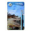 Lyra Graduate Aquarelle Colour Pencils 12's