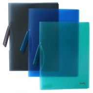 Croxley A4 Clip File Assorted Colours 12's