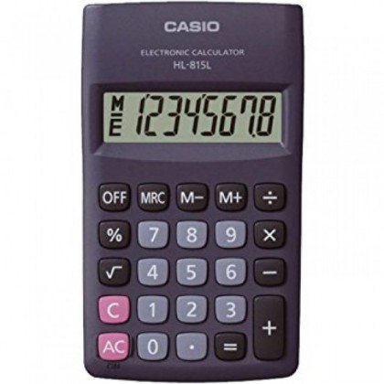 Casio HL-815L Handheld Calculator