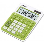 Casio MS-20NC Mini Desktop Calculator Green