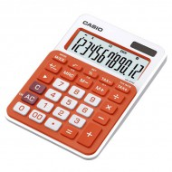 Casio MS-20NC Mini Desktop Calculator Orange
