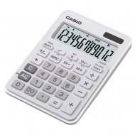 Casio MS-20NC Mini Desktop Calculator White