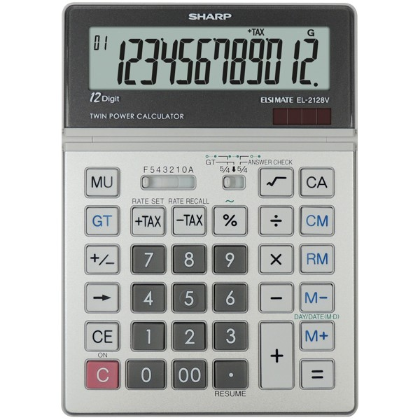how to clear data sets sharp calcul