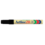Artline EK70 Bullet Point Permanent Marker Black
