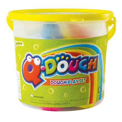 Colourland Q-Dough Play Dough Tub