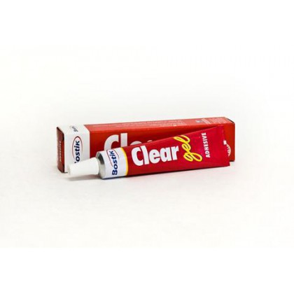 Bostik Clear Gel 25ml