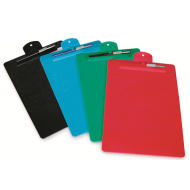 Files A4 Moulded Plastic Clipboard & Pen Holder