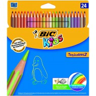 Bic Kids Tropicolor Colour Pencils 24's