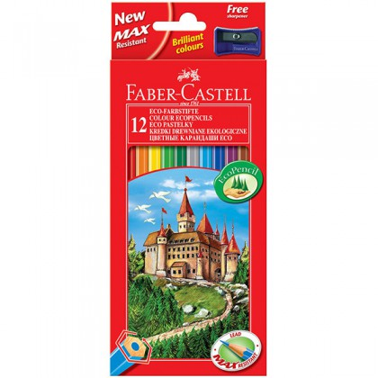 Faber-Castell Eco Colour Pencils 12's