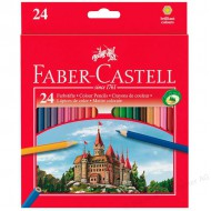 Faber-Castell Eco Colour Pencils 24's