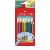 Faber-Castell Grip Colour Pencils 12's