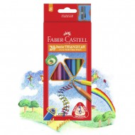 Faber-Castell Junior Grip Colour Pencils 20's