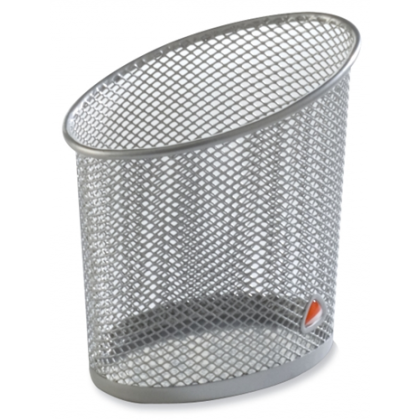 Alba Mesh Pen Holder Grey