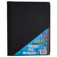 Butterfly A4 Display Folder 100 Pocket