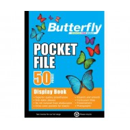 Butterfly A4 Display Folder 50 Pocket