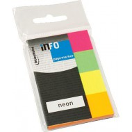 Info Note Page Marker Neon 4 x 40 Sheets