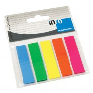 Info Notes Mini Flags 5 x 25 Sheets