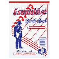 A4 Executive Desk Pad 80page