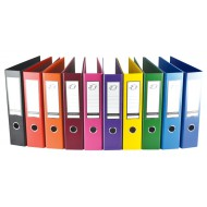 Nexx A4 PP Lever Arch File 70mm Yellow