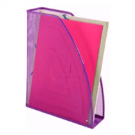 Alba Mesh Magazine Holder Purple