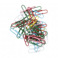 Foska 33mm Coloured Paper Clips