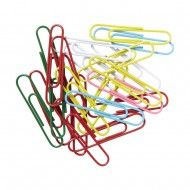Foska Paper Clip 50mm Assorted Colours